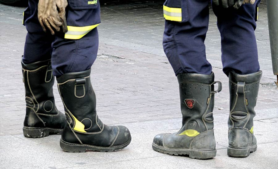 Fire intervention safety boots - EN 15090