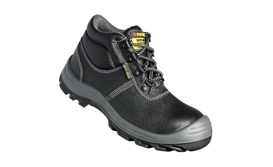 Slip resistant safety shoes SRC