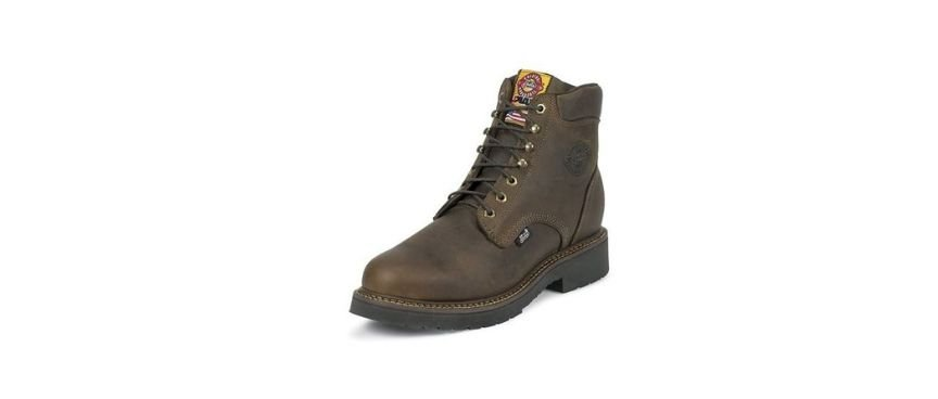 justin original brand workboots safety shoes today