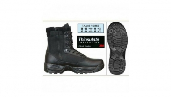Thinsulate-lined safety shoes against the cold