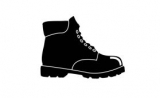 Safety footwear, toe cap materials
