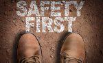 Calzado de seguridad con resistencia al impacto
