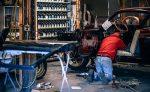 Calzado de seguridad para la industria del automóvil