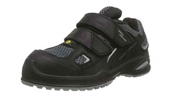 Safety shoes with Velcro fastening