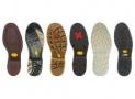 Calzado de seguridad, varios tipos de suela
