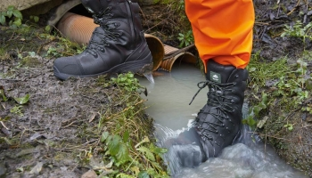 Waterproof safety shoes WR